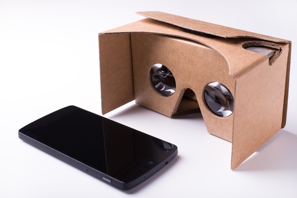 cardboard virtual reality glasses, Google cardboard glasses, virtual reality, virtual reality development, virtual reality training, VR in corporate learning, digital learning and development strategies