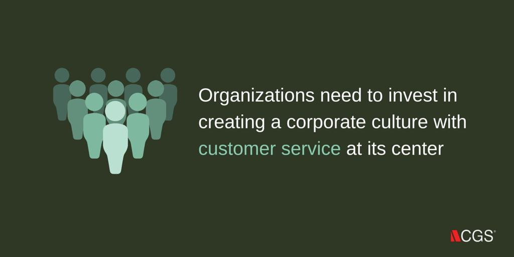 customer service, CGS, culture, corporate