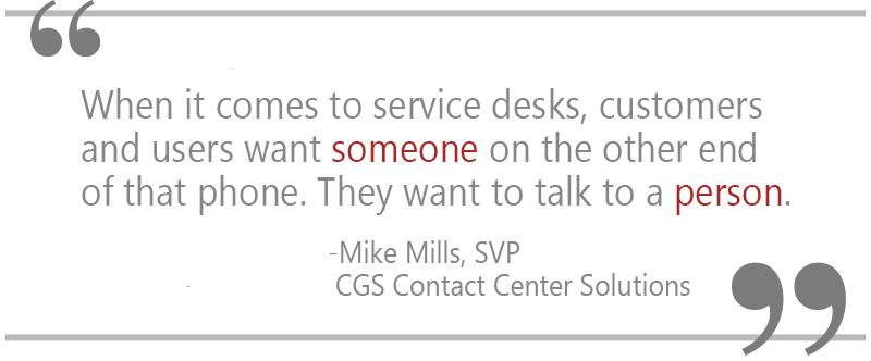 CGS, customer service, customer experience