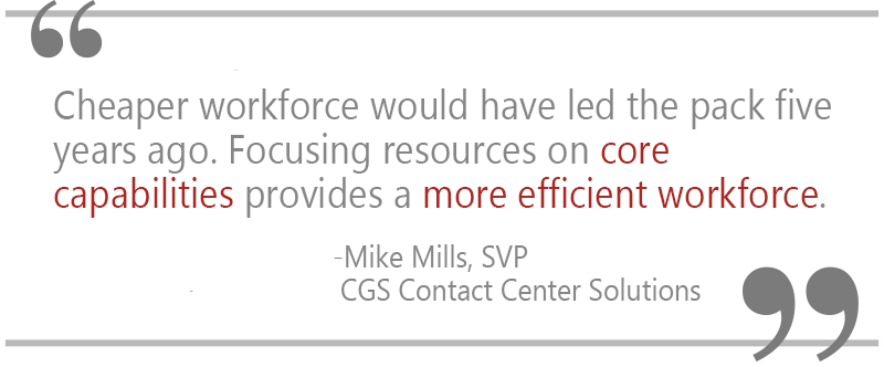 Mike Mills Quote, CGS, workforce,