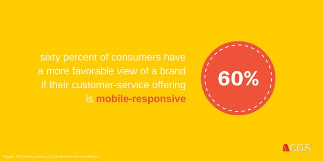 customer service, mobile, mobile responsive, CGS