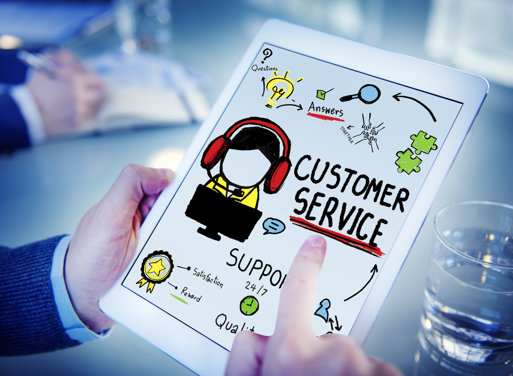multi-platform customer service, 24/7 customer service, website customer portal