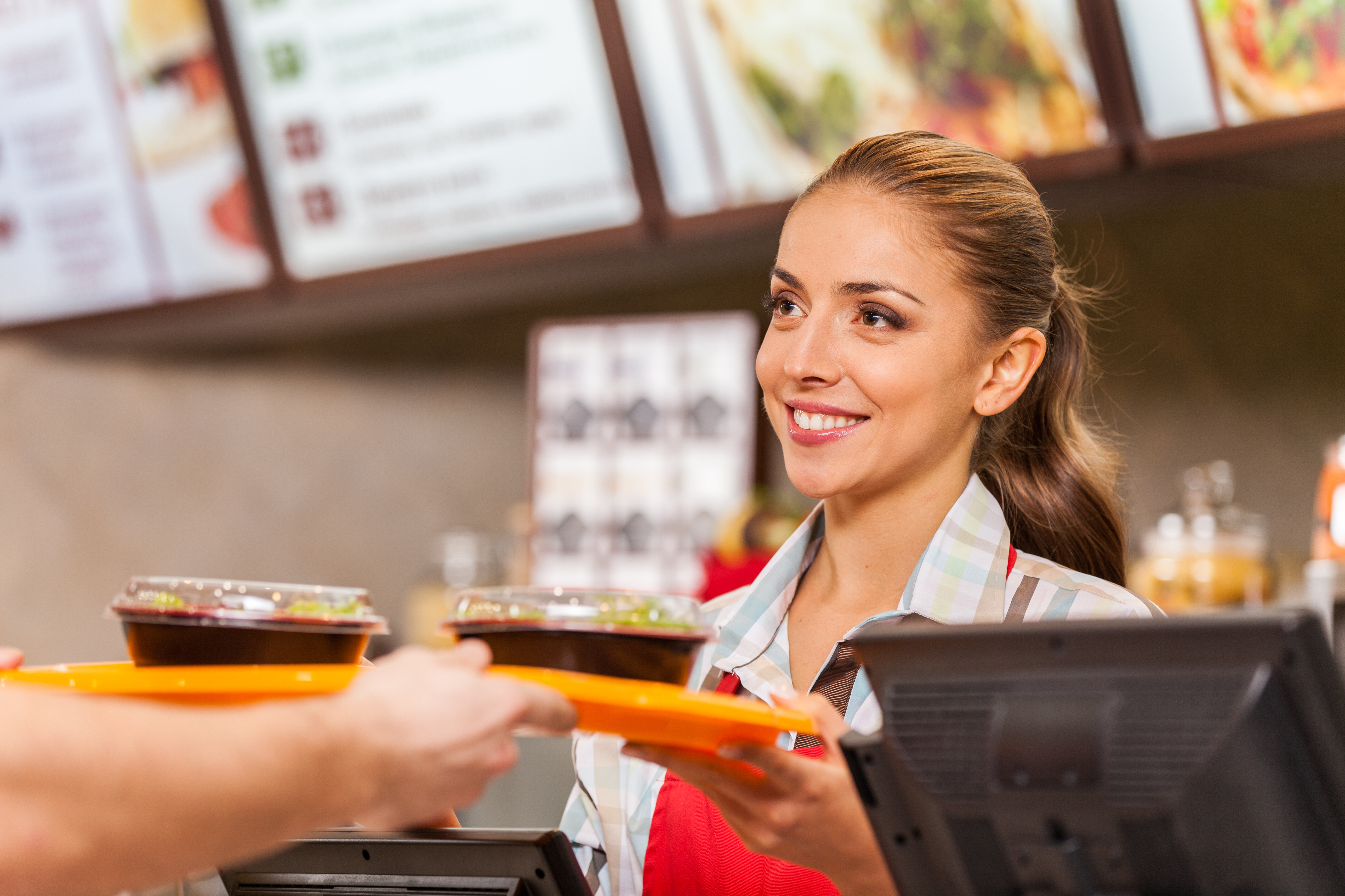 fast food service, customer service, fast food ordering, friendly service