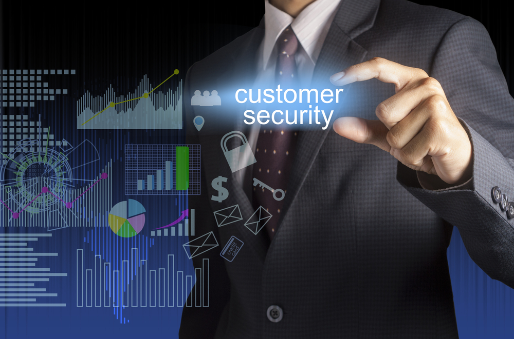 customer security, data security, secure customer service, IT security