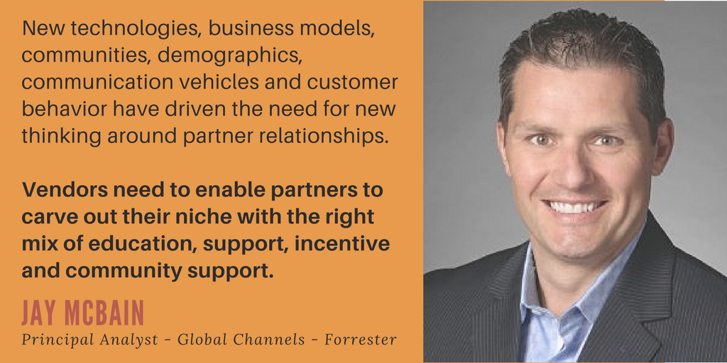 Jay McBain, Principal Analyst, Global Channels, Forrester on Channel Enablement