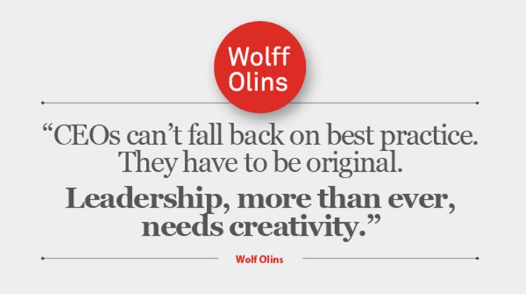 Leadership, wolff Olins, Shifts, disruptions,