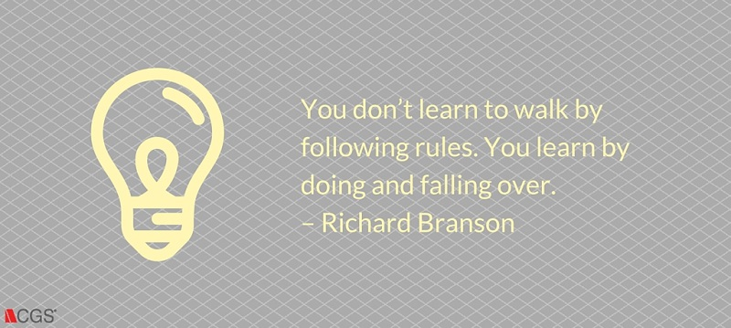 CGS, Richard Branson, learn,