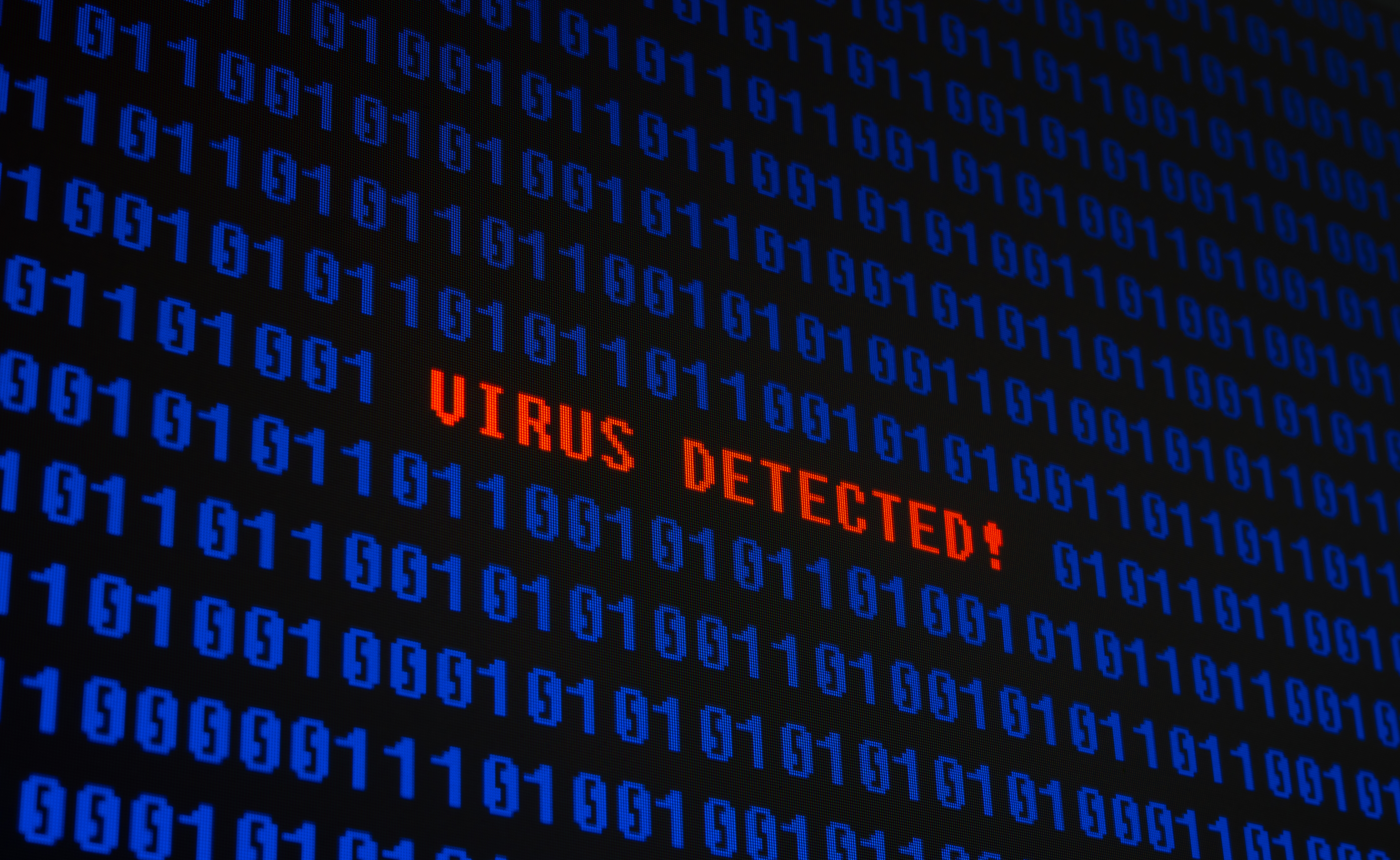 virus detected, computer viruses, cyber attacks, cyber security, IT security