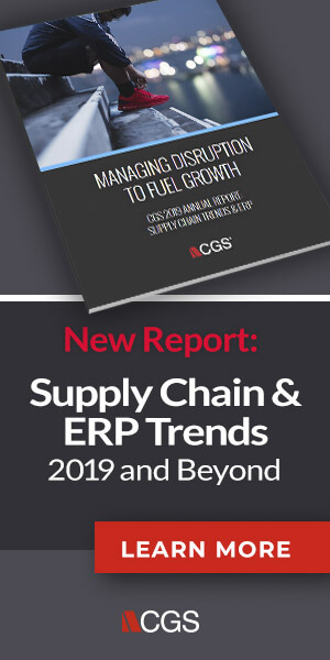 Fashion supply chain and apparel erp trends report