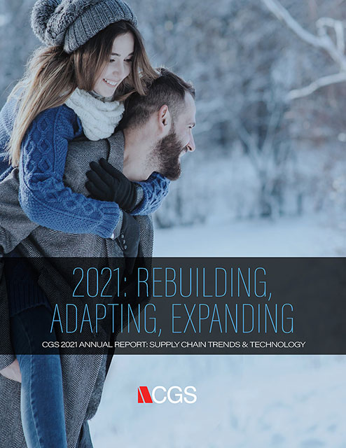 2020 Supply Chain Trends Report cover