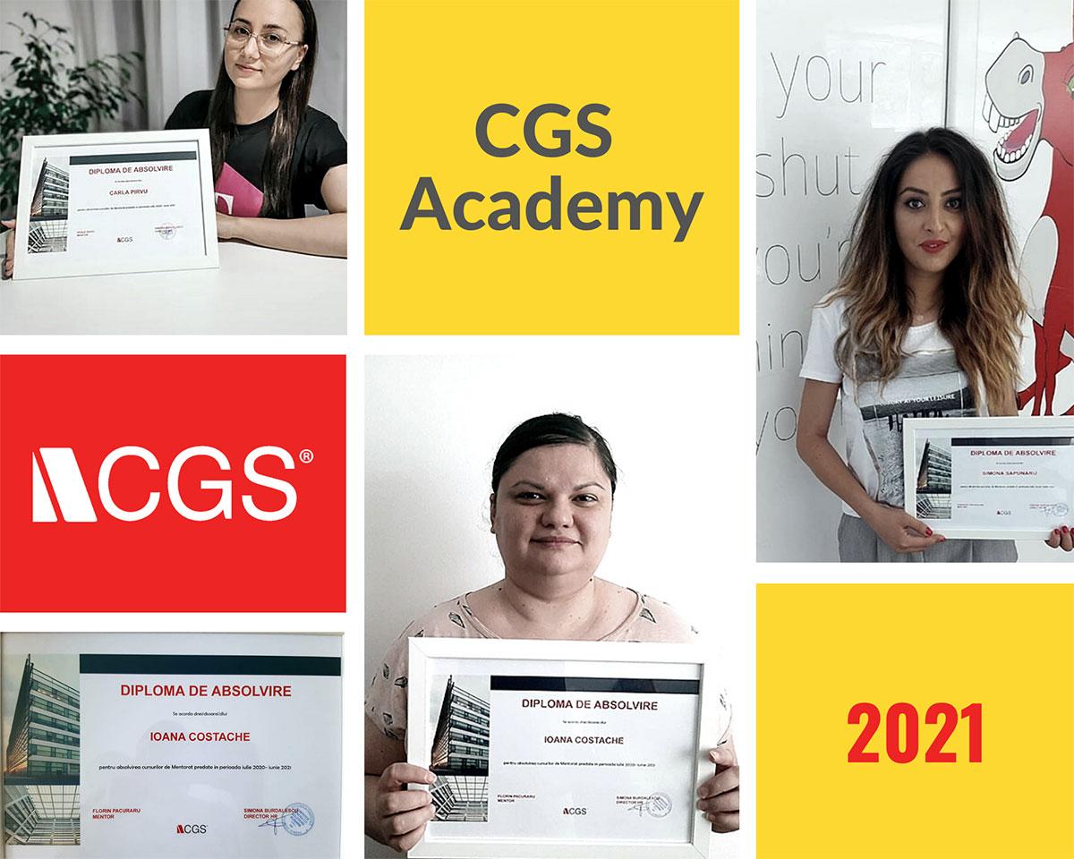 CGS Acadmey mentor program graduates collage photo
