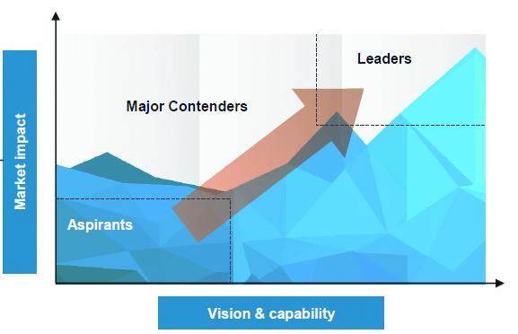 PEAK matrix of organizations