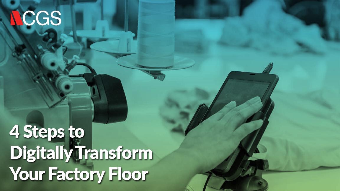 Shop Floor Control White Paper for factory floor management