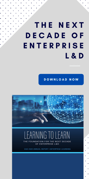 Enterprise learning and development report