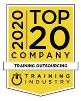 2020 Top 20 Training Outsourcing award