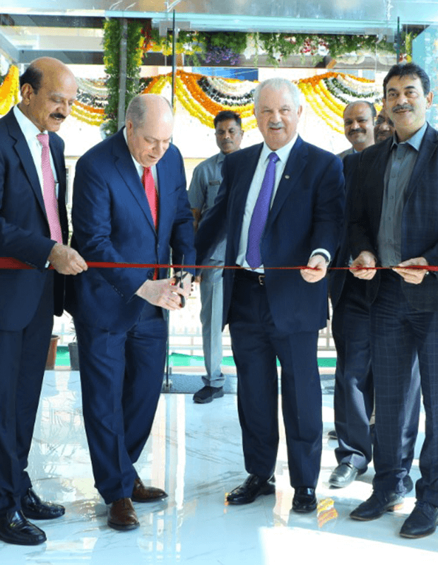 New CGS India office ribbon cutting ceremony