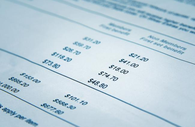 financial balance sheet, business KPIs and outsourcing, healthcare companies and KPIs
