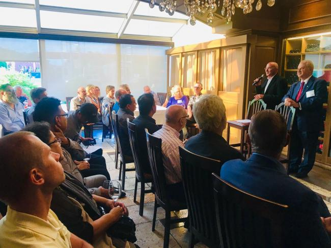 CGS and Visual Next Speak to Customers at August 2019 Customer Reception in Montreal