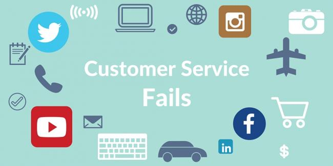 The 5 Most Epic Customer Service Fails of All Time | CGS Blog