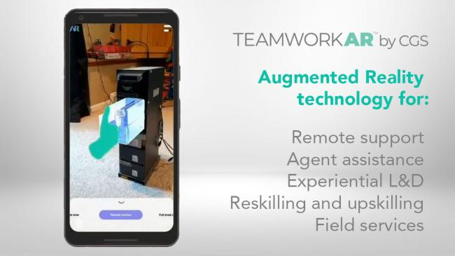 Teamwork AR augmented reality with features