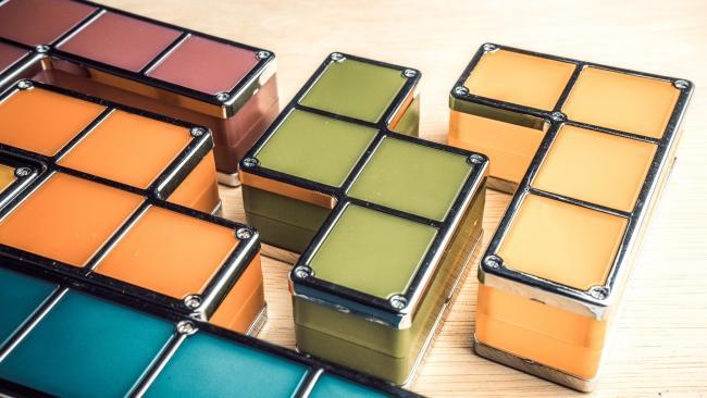 Tetris Building Blocks with Gaps Between Them