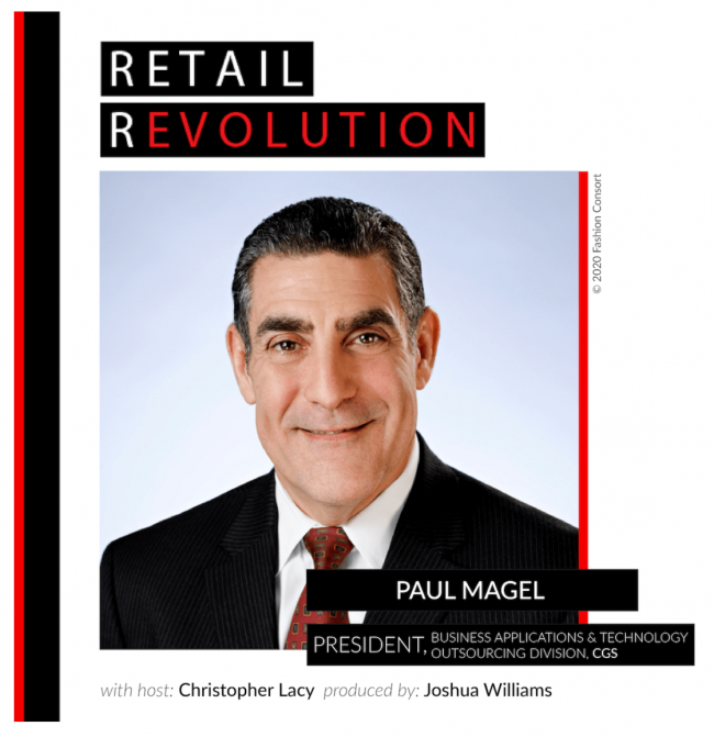 Paul Magel speaks about the future of apparel and fashion on the Retail Revolution podcast