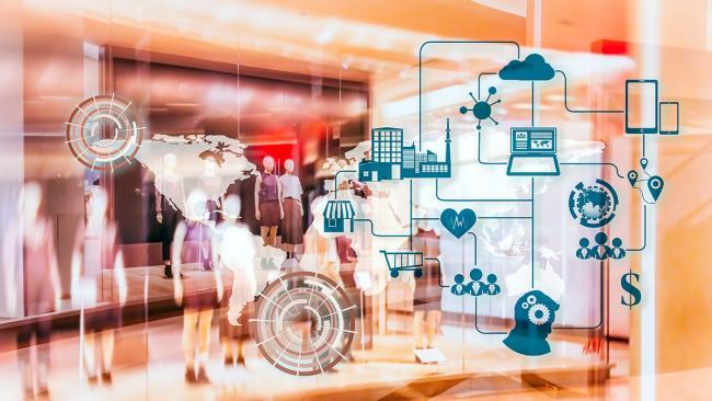 Fashion supply chain technology image