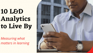 10 L&D analytics to live by graphic