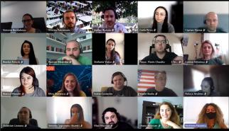Mentors and mentees in a mentor program at CGS