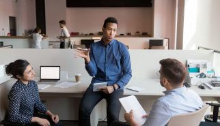 Workplace learning small group