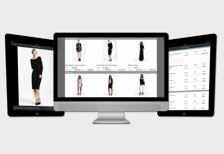 B2b ecommerce mobile desktop display
