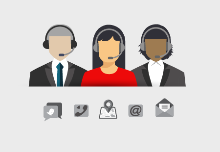 help desk agents email social mail