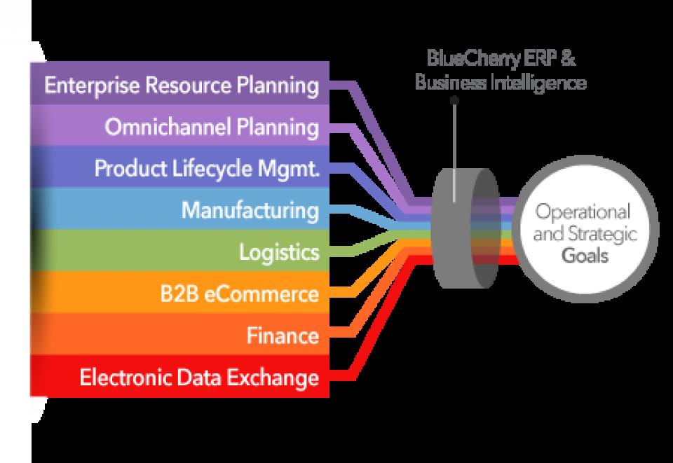 BlueCherry Enterprise Suite modules