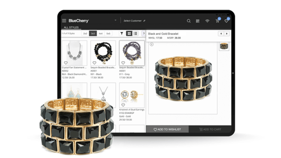 B2B eCommerce for luxury goods and consumer goods