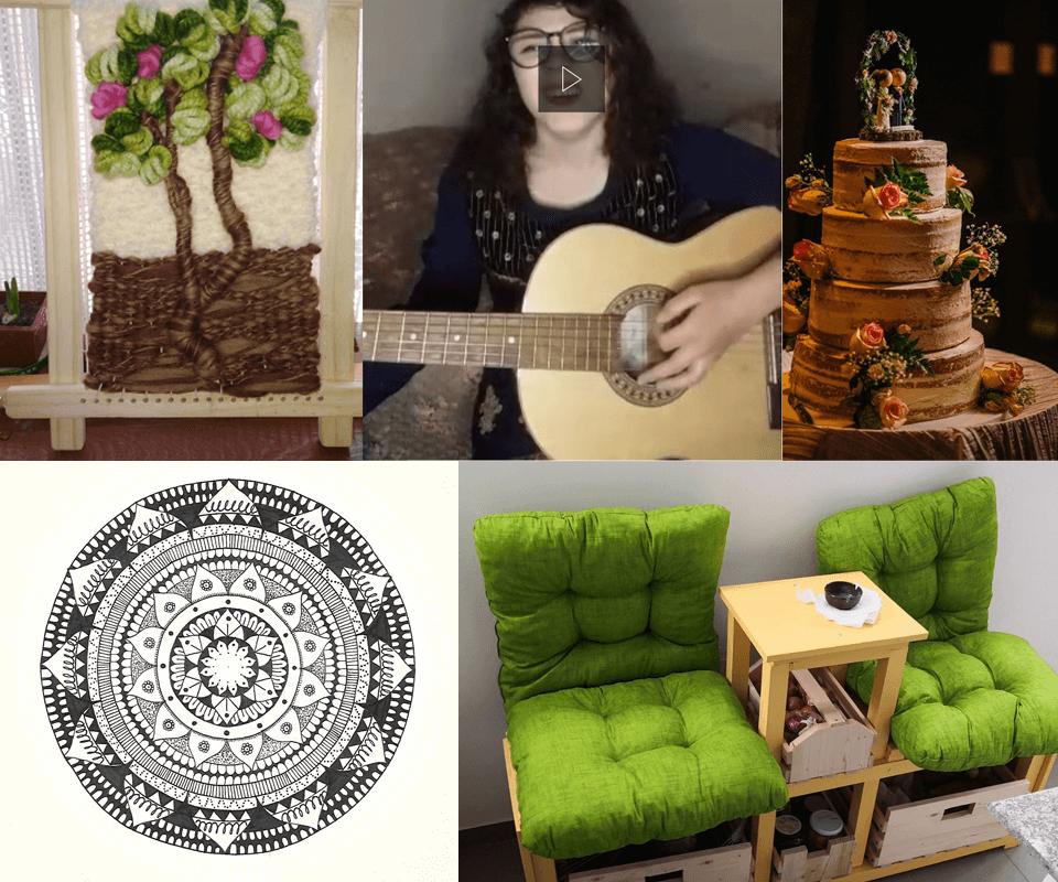 The CGS has talent: Drawing, furniture making, singing, cake creating etc.