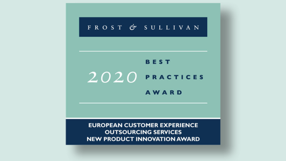 Frost & Sullivan Innovation Award